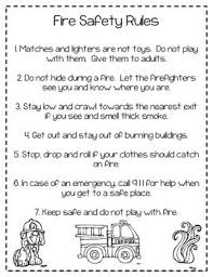 best preschool fire safety ideas fire safety fire safety rules coloring sheet more