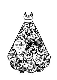 Small Picture Beautiful Dress Coloring Pages 37 About Remodel Coloring Pages for
