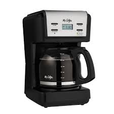 From a small batch (14 cups) to a full carafe, classic or rich strengths, you can expect the same great taste. Mr Coffee 12 Cup Programmable Coffee Maker Black Walmart Com Walmart Com