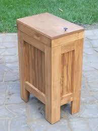 wooden trash cans incredible wood trash can holder diy diy tilt out trash bin ikea wooden wooden trash cans