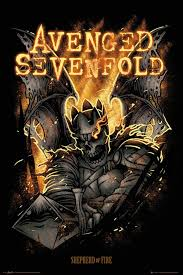 avenged sevenfold shepherd of fire official poster official