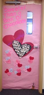 Classroom Valentines Day door decoration