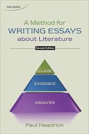 a method for writing essays about literature paul headrick a method for writing essays about literature paul headrick 9780176508609 books ca