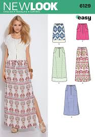 Long Skirt Patterns Mesmerizing New Look 48 Misses Skirts