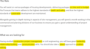 Civil Engineering Construction And Quantity Surveying Cover Letters