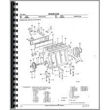 international harvester 674 tractor engine parts manual