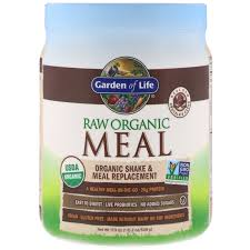 garden of life raw organic meal organic shake meal replacement chocolate cacao 1 1 lbs 509 g