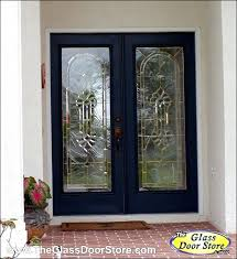 double wrought iron entry doors baroque glass in double door glass inserts they look wonderful and