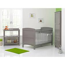 obaby grace 3 piece room set taupe grey