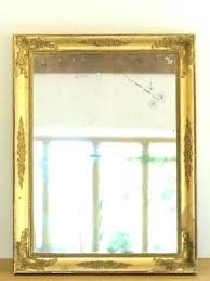 mercury mirror antique french gilt danger glass how panels me