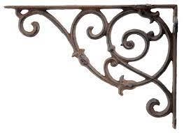 decorative wall shelf bracket ornate