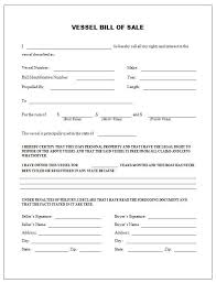 Generic Bill Of Sale Form Boat Sale Contract Template Free Printable Boat Bill Sale Form Generic