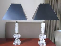 Crystal Table Lamps Amazon Lamp With Cream Shade Canada 7 Home Combo