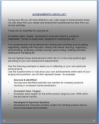 Cv Guidance Notes For Completing Questionnaire