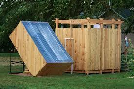 solar shower outdoor
