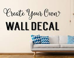 custom wall decals