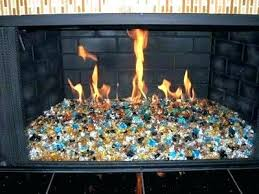 fireplace rocks for gas implausible glass stones decorative rock fire interior design 7