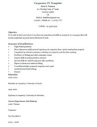 Carpenter Resume Template Inspiration Cv And Resume Samples Carpenter Resume Sample Resume Cv Sample Or
