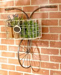 metal bicycle wall basket on bike wall decor with basket with metal bicycle wall basket metal bike basket pinterest walls