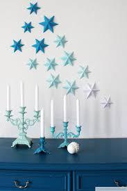 diy wall decor paper. DIY 3D Paper Stars On The Wall For Christmas (via Www.dekotopia.net Diy Decor P