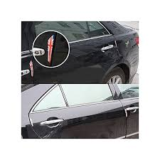 4 pcs uk flag pattern car door protector carbon fiber door side edge sticker
