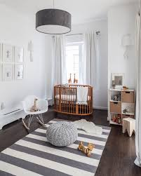 Modern Baby Room Best Ideas With Round Crib Super Contemporary