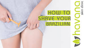 how to shave for your brazilian laser hair removal