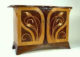 Art Nouveau Design Style Influences Furniture Interiors