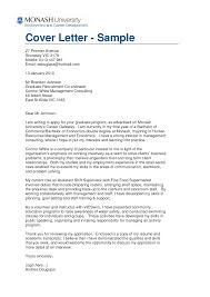 Sample Cover Letters For Graduate School Applications Eursto Com