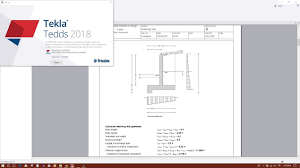 Retaining Wall Design Tekla Tedds 2018 Retaining Wall Design Example
