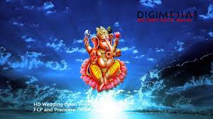 - Hd Background Starting God Youtube Wedding Video 4k Animation Animated Ganesh