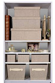 Decorative Closet Storage Boxes