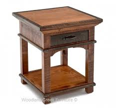 Sophisticated Rustic End Table Sophisticated Side Table