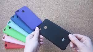 <b>Чехол</b>-бампер <b>Xiaomi Silicone Cover</b> для <b>Xiaomi Redmi</b> 4X ...