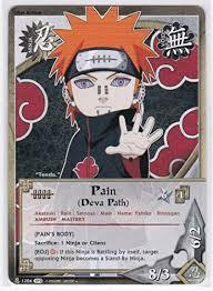"Amazon.co.jp: Naruto <b>Naruto English Card</b> Game ""Payne Yahiko ..."