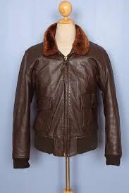 leather flight jacket 42 11111