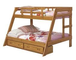Woodcrest Heartland A-Frame Bunk Bed (A2650 - Honey Pine ...