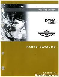 2003 harley davidson dyna motorcycle parts manual