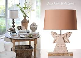 inspirational shabby chic lamp or rouge lighting table lamps stone lamps living room lamps shabby chic