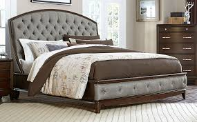 Tufted upholstered sleigh bed Crystal Tufting Homelegance Yorklyn Button Tufted Upholstered Sleigh Bed Cherry Nflincorg Homelegance Yorklyn Button Tufted Upholstered Sleigh Bed Cherry