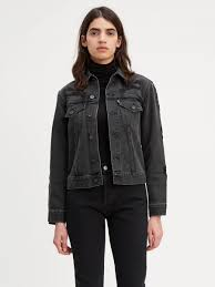 levi s made crafted boyfriend trucker jacket levi s jeans jackets clothing
