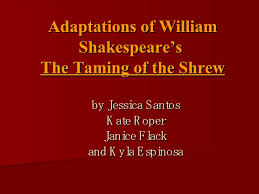 essay shakespeare shrew taming william