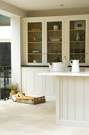 Travertine Flooring In Kitchen We Love This Gorgeous Shaker Kitchen Laid With Our Light Tumbled