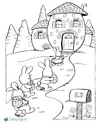 In the middle ages was popular quite a peculiar game. Easter Coloring Pages