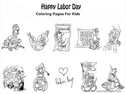 Small Picture Inspirational Labor Day Coloring Pages 73 For Your Free Colouring