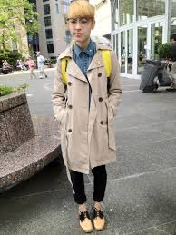 classic trench vancouver street style