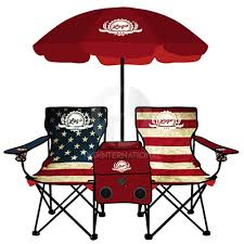 americana folding chair with cooler chairs