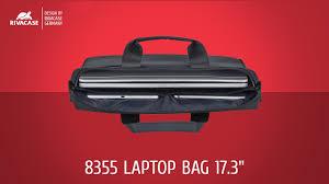 """<b>RIVACASE</b> 8355 black Laptop bag 17.3"""" - YouTube"""