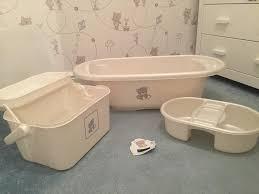 mothercare teddy toy box bath set