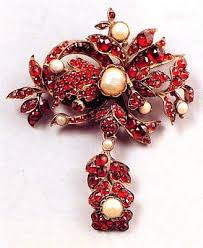 another exle of the m produced items typical of the bohemian garnet photo courtesy the national czech slovak museum library